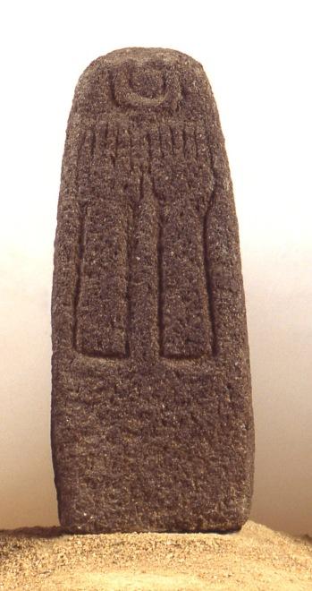 1967-678~Stone Stele Shrine of the Stelae Hazor 15th-13th c BCE
